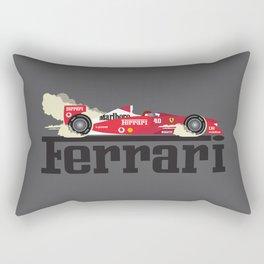 Ferrari F1 Rectangular Pillow