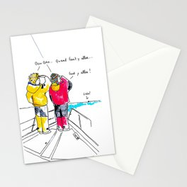 Cirrus/Let's go! Stationery Cards