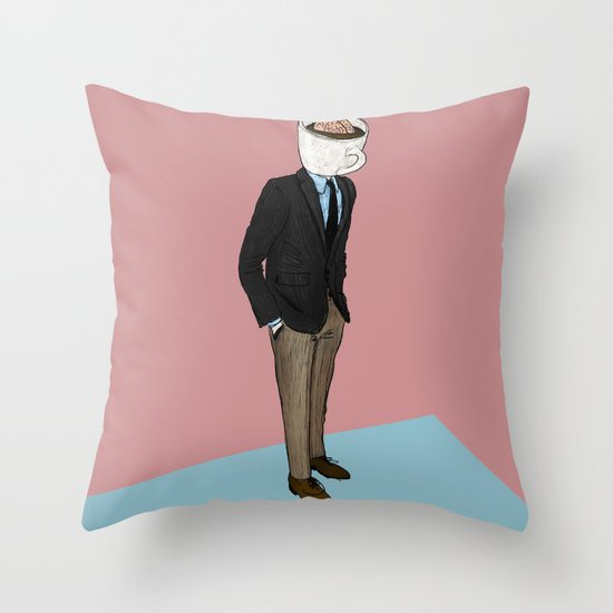 IT'S MORNING AND I THINK OF YOU Throw Pillow