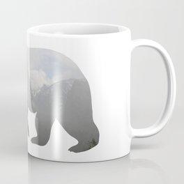 Grizzly Bear with Yosemite Photo Inlay Coffee Mug