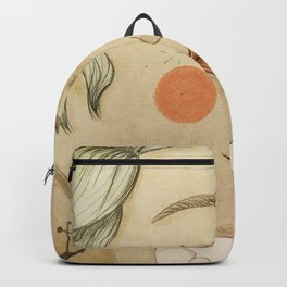 thoughtful woman Backpack
