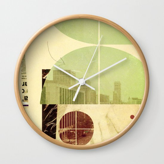 205 (Forensic Love Story) Wall Clock