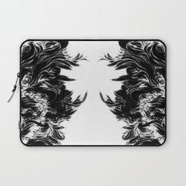 Soft Lines(B&W) Laptop Sleeve