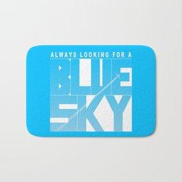 Always Looking for a Blue Sky Bath Mat