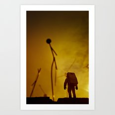 Close encounter (of the Third Kind) Art Print