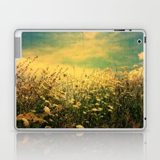 Counting Flowers Like Stars - Color Version Laptop & iPad Skin