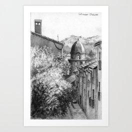 Collioure SK01P Art Print