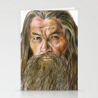 gandalf Stationery Cards featuring Gandalf by Labani