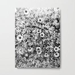 Graphic Tropical Vine  Metal Print