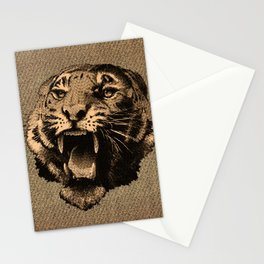 Vintage Tiger Stationery Cards