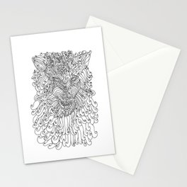 The Way of Wolf Stationery Cards