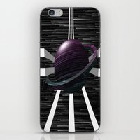 saturn iPhone & iPod Skins featuring Saturn by Isaak_Rodriguez
