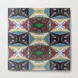 Vibrational Pattern 5 Metal Print