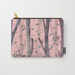 Forest Pink Carry-All Pouch