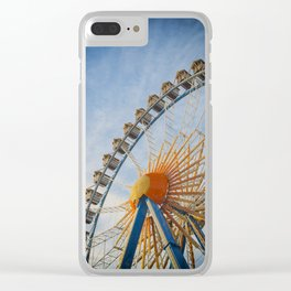 Fairground Attraction Clear iPhone Case