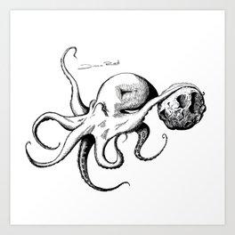 Octopuspace Art Print