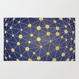 Cryptocurrency mining network Rug