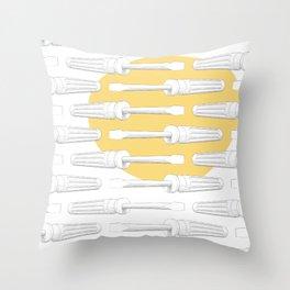 Screwdriver Throw Pillow