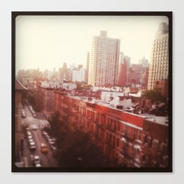 The Upper East Side (An Instagram Series) Canvas Print