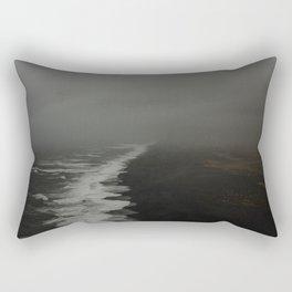 Vik Black Sand Beach Rectangular Pillow