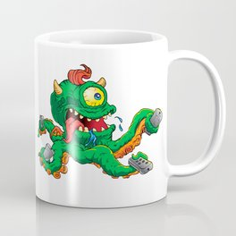monster cartoon with control Coffee Mug