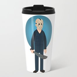 Jason Voorhees Friday the 13th Part 5 (aka Roy Burns) Travel Mug