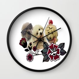 Macys with Rose  Wall Clock