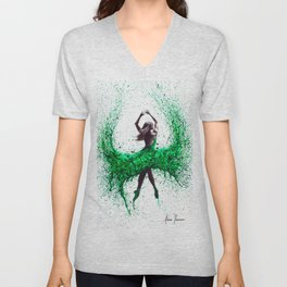 An Emerald Love Unisex V-Neck
