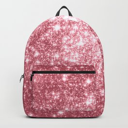 Pink Sparkle Stars Backpack