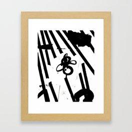 Kollage n°183 Framed Art Print