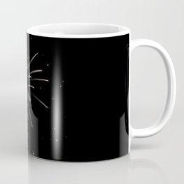 Spraying Fireworks Coffee Mug
