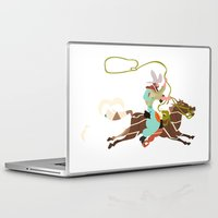 cowboy Laptop & iPad Skins featuring Cowboy by Design4u Studio