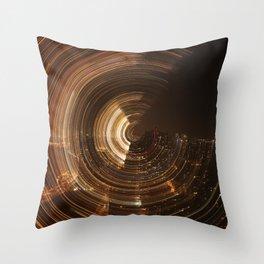 NY Swirl Throw Pillow
