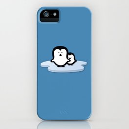 Penguins on Ice iPhone Case