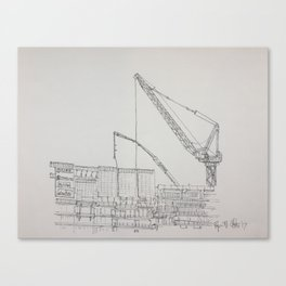 Chicago - Construction Canvas Print