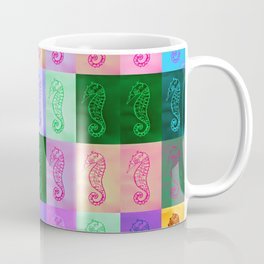 Rainbow Seahorses Coffee Mug