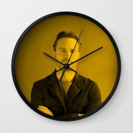 Michael Fassbender Wall Clock