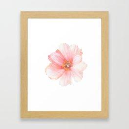 Pink Flower :D Framed Art Print