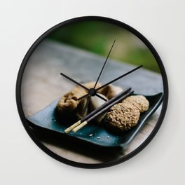 Japanese Cookies // San Francisco, California Wall Clock