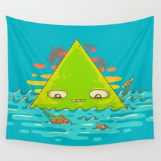 The Bermuda Triangle Wall Tapestry