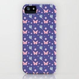 lavanda butterflies iPhone Case