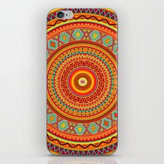 Mandala Aztec Pattern iPhone Skin