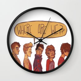 where are we Wall Clock