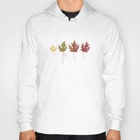 fall Hoodies featuring Fall by Janko Illustration