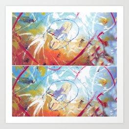 Yo Yo  Ma               by      Kay Lipton Art Print