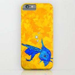 A fish! A fish! A fishy... OH!! iPhone Case