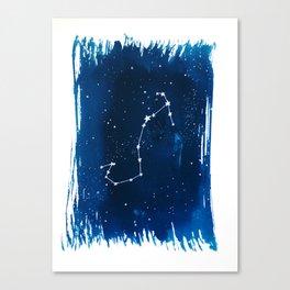 Scorpio Zodiac Print Canvas Print