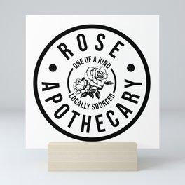 Rose Apothecary. Ew david gift. Rosebud motel Mini Art Print