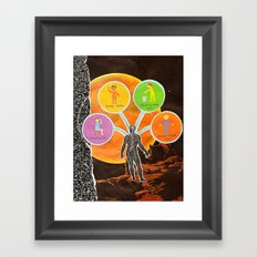 The Universal Four Habits Framed Art Print