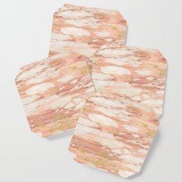 Sorano rose gold marble Coaster